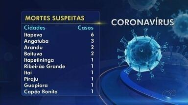 Confira o balanço de casos de coronavírus na região de Itapetininga - Confira o balanço de casos de coronavírus na região de Itapetininga (SP).