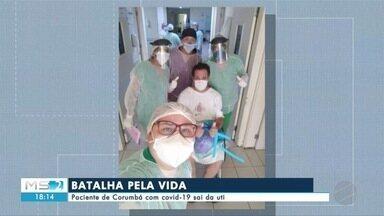 Paciente de Corumbá com covid-19 sai da UTI - Paciente de Corumbá com covid-19 sai da UTI