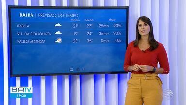 Veja a previsão do tempo para Salvador e interior do estado na sexta-feira santa - Confira.