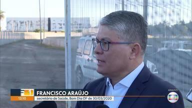 Hospital de campanha no Mané Garrincha ainda está em obras - No dia 30 de março, a Secretaria de Saúde havia prometido que o hospital já receberia pacientes em 15 dias.