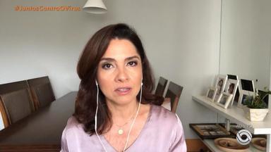 Carolina Bahia fala da decisão do MS em colocar Porto Alegre em lista de emergência - Assista ao vídeo.
