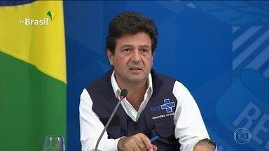 Boletim JN: Mandetta diz que voos captarão material hospitalar no exterior - Segundo o ministro da Saúde, nas próximas seis semanas, 40 voos internacionais serão destinados a captar EPIs e testes para o novo coronavírus. São mais de 25 mil casos de Covid-19 no Brasil e mais de 1.500 mortos.