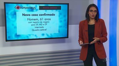 Sesa confirma sexto caso de Covid-19 em Ponta Grossa - Paciente de 61 anos está internado na UTI do Hospital Regional Universitário.