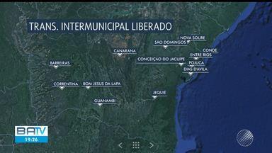 Transporte intermunicipal é retomado em cidades baianas sem casos registrados de Covid-19 - Catorze cidades do estado reabriram as rodoviárias nesta terça-feira (14).