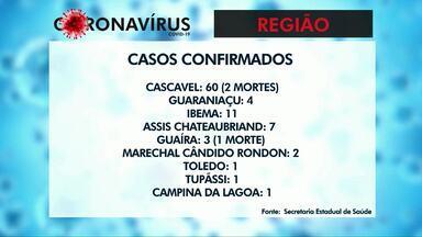 Guaíra tem a primeira morte pelo novo coronavírus - A vítima era um homem e tinha 52 anos. Agora o Paraná soma 37 mortes pela covid-19.