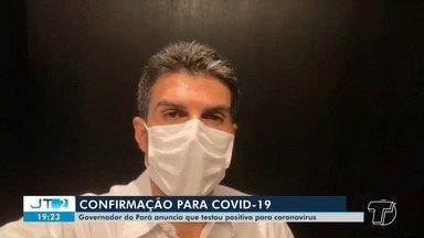 Helder Barbalho testa positivo para Covid-19 e pede para população ficar em casa - O anúncio foi feito pelo próprio gestor em seu perfil oficial em uma rede social nesta terça-feira (14).