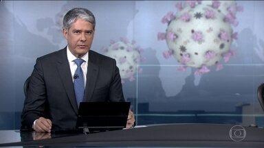 São Paulo recebe 725 mil testes de coronavírus - Kits serão distribuídos em laboratórios da rede criada pelo governo estadual. Mais de 15 mil amostras aguardam o resultado, incluindo casos suspeitos e também de pessoas que já morreram e não tiveram a confirmação da doença.