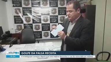 Dupla usava receitas médicas falsas para obter remédios na rede pública do Amapá - O objetivo da dupla era retirar os medicamentos em postos e hospitais para revender posteriormente.