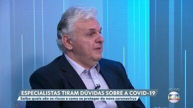 Especialista comenta ajuda do Ministério da Saúde com leitos e equipamentos - O infectologista Paulo Abrão diz que os estados precisam de equipe, equipamentos e leitos.