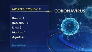 Confira os casos de coronavírus nas cidades do Centro-Oeste Paulista - Região tem casos e mortes confirmadas, além de monitorar pacientes com suspeita de Covid-19. Confira.