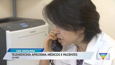 Atendimentos via telemedicina aumentam na região - Veja a reportagem.
