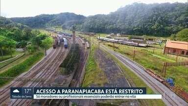 Acesso a Paranapiacaba está restrito - Só moradores ou profissionais essenciais podem entrar na vila