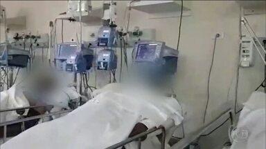 Coronavírus: São Paulo registra ocupação de 60% dos leitos - No Hospital de Clínicas, em São Bernardo do Campo, no ABC Paulista, dos 100 leitos destinados a pacientes da Covid-19, 96 já estão ocupados. A cidade registra 297 casos do novo coronavírus; 20 pessoas morreram. Em São Paulo, a Covid-19 já fez 1.015 vítimas; mais de 14,2 mil foram infectados.