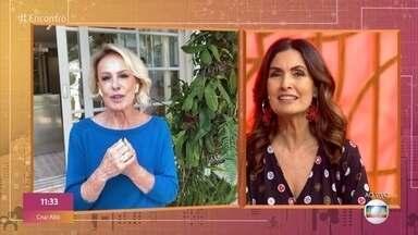 Ana Maria revela saudade do Louro José - A apresentadora fala sobre suas receitas