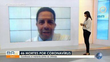 Cardíacos são maioria entre as vítimas por coronavírus na Bahia - Confira o que diz o especialista.