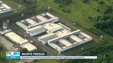 Quartorze presos morreram com sintomas de coronavírus em dois presídios do Rio - Secretaria de administração penitenciária classifica as mortes como indeterminadas.