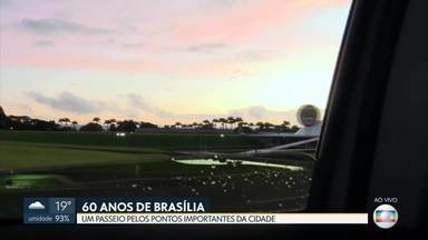 Aniversário de Brasília: tour pela Esplanada - A repórter Maria Fernanda fez um passeio pelos pontos mais importantes da capital.