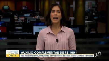 Prefeitura de Fortaleza anuncia pagamento de auxílio complementar - Saiba mais em g1.com.br/ce