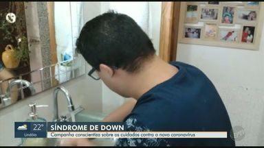 PUC-Campinas e Fundação Sindrome de Down lançam campanha de conscientização - Cuidados contra o coronavírus têm que ser redobrados para quem tem síndrome de down.