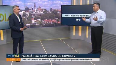 Secretário afirma que Paraná tem mais de 50 mil testes rápidos - Outros 50 mil devem chegar ao Estado.
