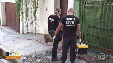 Homem é morto em BH - O crime aconteceu no bairro Santo Antônio.