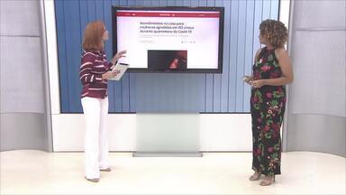 Atendimentos de mulheres agredidas crescem em RO durante quarentena - Atendimentos de mulheres agredidas crescem em RO durante quarentena