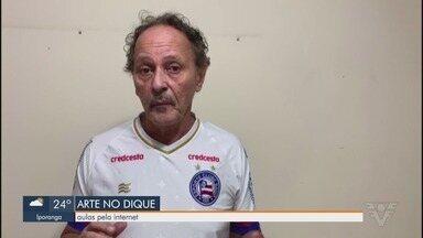Instituto Arte no Dique lança campanha 'Baixada pela Vida' - Zé Virgílio Figueiredo, presidente do instituto, dá mais detalhes da ação.