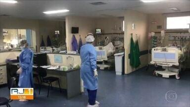 Governo do Estado confirma que UTI do Hospital Pedro Ernesto está lotada - São 25 leitos para Covid-19 ocupados e apenas 1 livre, na manhã desta terça-feira (21)