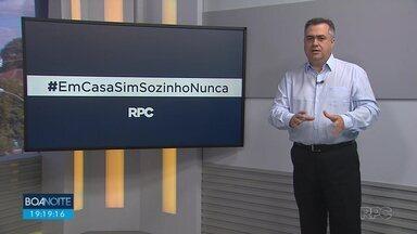 Secretário de Saúde reforça novamente a importância do isolamento social - Beto Preto ainda falou sobre a chegada de 58 mil testes rápidos ao Paraná, que serão distribuídos para todo o Paraná.