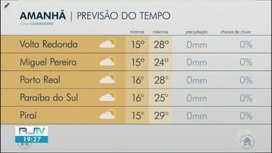 Confira a previsão do tempo para esta quarta-feira no Sul do Rio de Janeiro - Veja como fica o clima nas cidades da região.