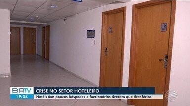 Hotéis em Feira de Santana são afetados pela pandemia de coronavírus - Setor hoteleiro deu férias aos funcionários e está com poucos hóspedes.