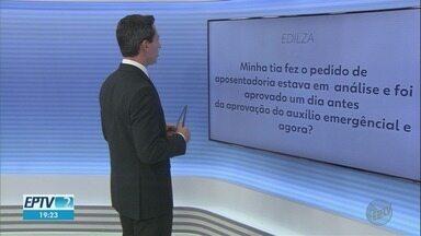 Especialistas esclarecem dúvidas de telespectadores do EPTV2 nesta terça-feira (21) - Saúde e assuntos trabalhistas estão entre perguntas do público.