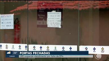 UBS suspende atendimento por falta de EPIs em Parnaíba - UBS suspende atendimento por falta de EPIs em Parnaíba
