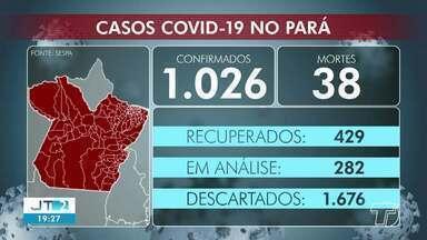 Acompanhe os números de casos confirmados de coronavírus no Pará - Em Santarém, são 29 casos confirmados e cinco mortes.