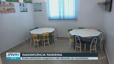 Inadimplência nas escolas aumenta 20% em Araraquara e São Carlos - Entidades particulares renegociam e dão descontos nas mensalidades