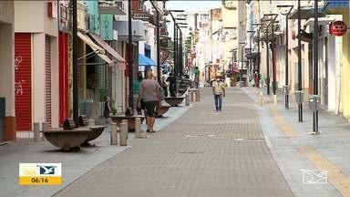 Centro de São Luís vira alvo de bandidos - Muitos lojistas já estão preocupados com o número de arrombamento neste período de pandemia