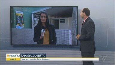 Determinação do Estado de isolamento social completa um mês nesta quinta-feira (23) - Secretário de Saúde de Santos, Fábio Ferraz, faz balanço positivo de medidas preventivas.