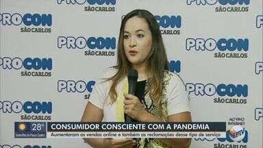 Aumentam as reclamações sobre compras online com a pandemia - Diretora do Procon de São Carlos dá orientações.