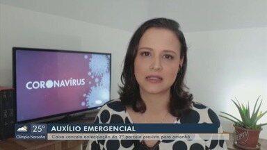 Segundo parcela do auxílio emergencial tem antecipação cancelada - Viviane Abreu traz as informações de Brasília