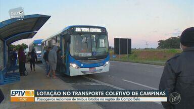 Problema de ônibus lotado em Campinas se repete nesta sexta-feira - Na quinta-feira (24), foi mostrado, pela equipe da EPTV, a linha 191 que devido a redução da frota estava lotado e pode gerar um risco para a saúde da população.