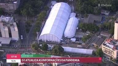 Rio de Janeiro antecipa hospital de campanha para o novo coronavírus - Brasil já tem mais de 3.700 mortes e mais de 54 mil casos do novo coronavírus