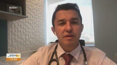 Cardiologista do AM alerta para combate e prevenção da hipertensão - Segundo Ministério da Saúde, a cada quatro habitantes entre as idades de 18 a 54 anos, um tem hipertensão.