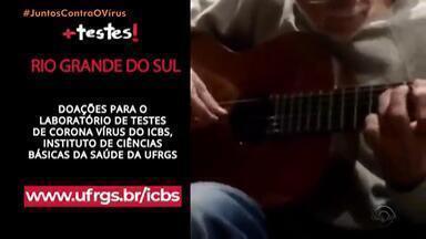 Casa de Cinema de Porto Alegre lança clipe para arrecadar fundos a universidades - Iniciativa do diretor Jorge Furtado tem apoio do movimento #342 Artes. Objetivo é reforçar a importância do isolamento social e promover doações às áreas de pesquisa em testes de coronavírus na UFRGS, UFRJ e USP.
