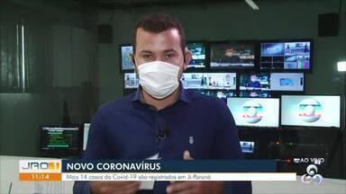 Casos confirmados de Covid-19 aumentam em Ji-Paraná - Secretaria municipal diz que são 26 casos na cidade.