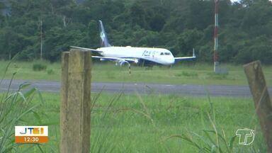 Avião retorna ao Amazonas após tentar trazer passageiros de Manaus ao Pará - Aeronave parou em Altamira e iria seguira para Santarém, mas foi obrigada a retornar ao estado do voo de origem.