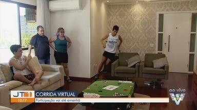 Corrida Virtual 5 km A Tribuna tem largada neste sábado (25) - Primeira corrida virtual deve ser feita em casa e é iniciativa para o período de pandemia.