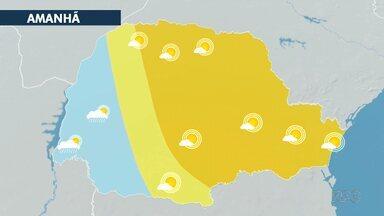 Domingo (26) começa com temperatura baixa na região de Curitiba - Durante à tarde, a máxima pode chegar aos 27 graus.