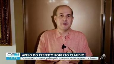 Prefeito de Fortaleza reforça pedido de isolamento social - Saiba mais no g1.com.br/ce