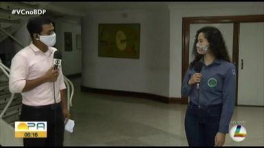 Estudantes da UFRA vão doar máscaras para população de baixa renda - Estudantes da UFRA vão doar máscaras para população de baixa renda