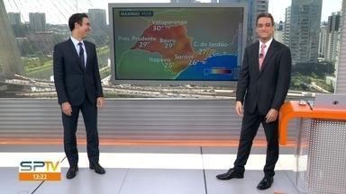 São Paulo deve ter dias com sol na última semana de abril - Grande SP está sem chuva desde o dia 3 de abril. O clima permanece seco nesta segunda-feira (27).